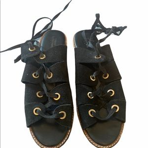 Urban outfitters gladiator shoes size 39